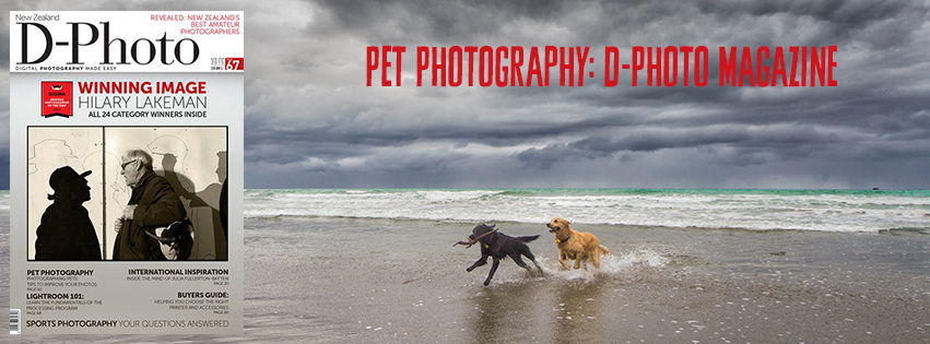 Pet Photography in D-Photo Magazine